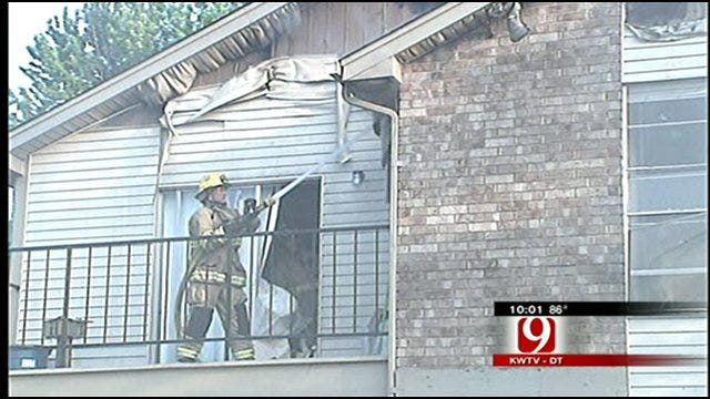 Cause Of Norman Apartment Fire Under Investigation