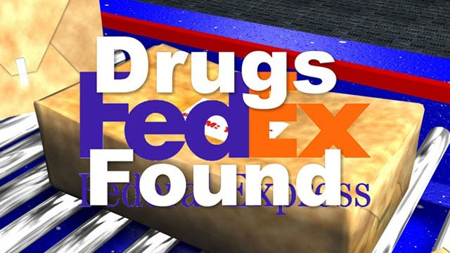 OKC Officer Finds Illegal Drugs In Fed Ex Packages