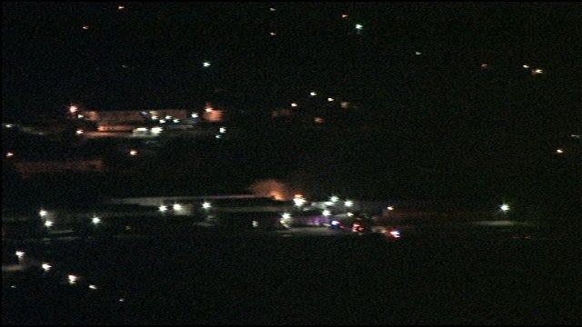 Firefighters Douse OKC Motor Home Blaze