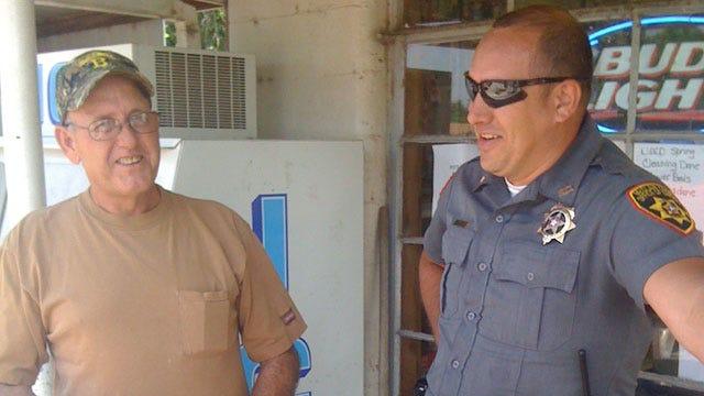 Lone Deputy Patrols Town Of Wayne
