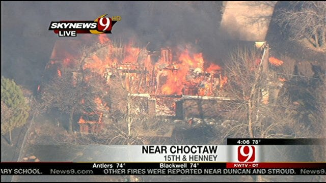 Choctaw Mayor's Home Among Those Destroyed In Wildfire