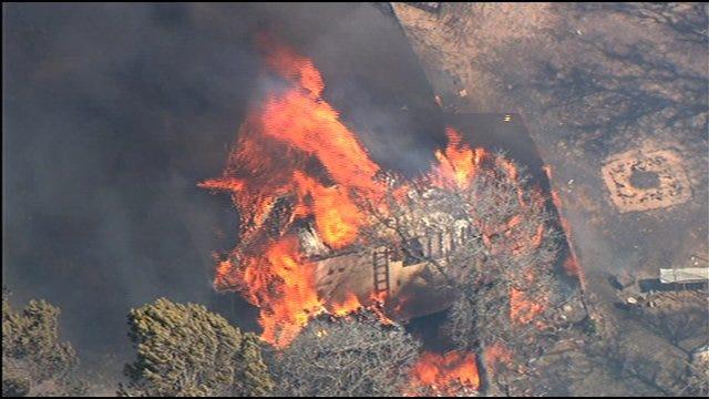 Dozens Of Homes Destroyed In Harrah Wildfire