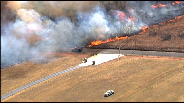 Oklahoma Emergency Leaders Take Action Following Wildfires