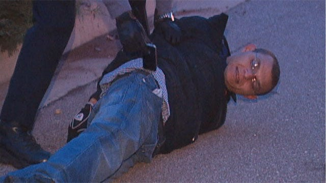 Burglary Suspects Caught At Oklahoma City AT&T Store
