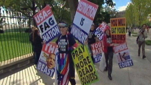 Supreme Court Rules In Favor Of Westboro Funeral Protesters