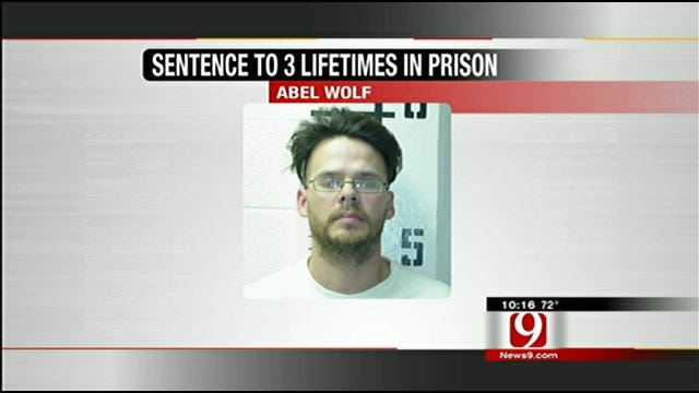 Oklahoma Man Sentenced To 3 Life Terms For Moving Body