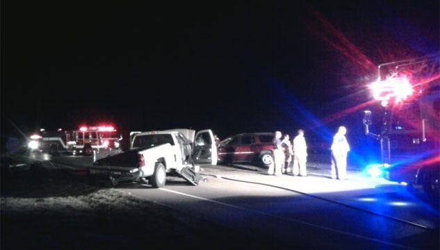 4 Critically Injured In Northwest Oklahoma City Wreck