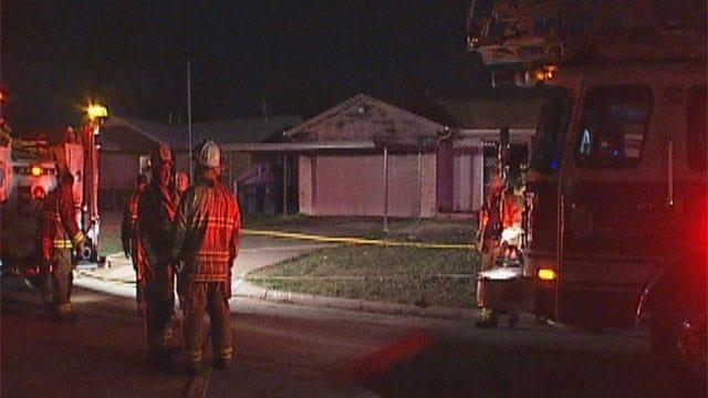 Fire Sweeps Through House In S.W. OKC, Worries Neighbors