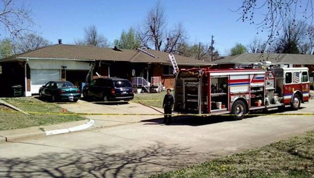Police Arrest Grandson In Midwest City Couple's Death, House Fire