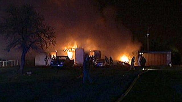 Oklahoma City Family Escapes Overnight House Fire