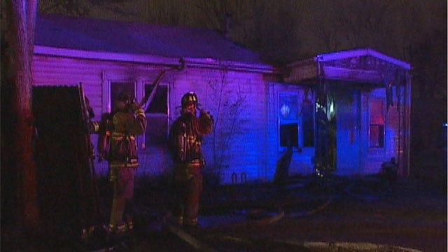 Fire Destroys SE Oklahoma City Home