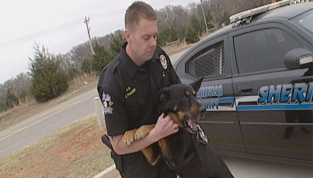 Four-Legged Crime Fighter Sniffs Out 4 Burglars In The Metro