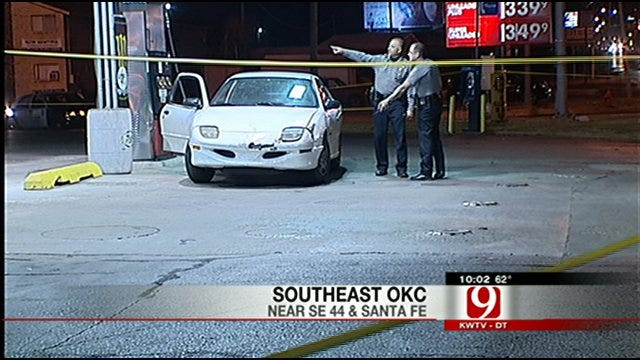 Police Investigate Shooting At Southeast Oklahoma City Convenience Store
