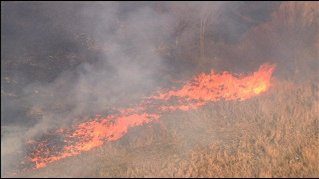 2 Grassfires Break Out In Cleveland County