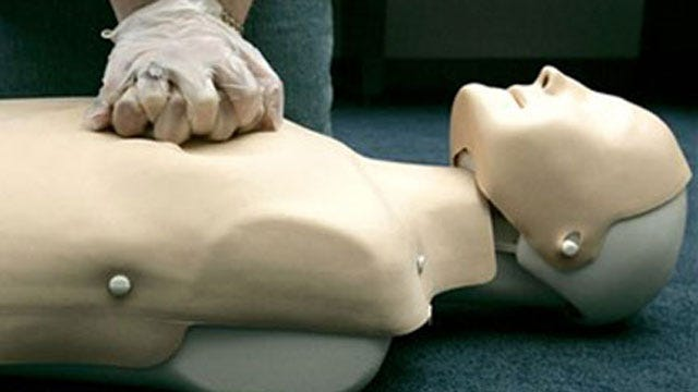 OKC Red Cross Offers Free CPR Classes In Honor Of Wounded Congresswoman