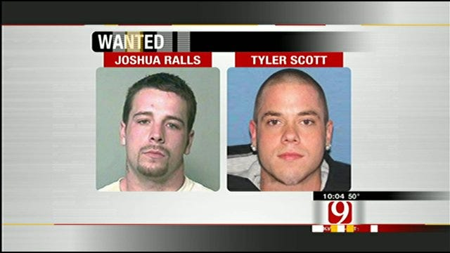 2 Men Involved In Violent Oklahoma County Home Invasion On The Run