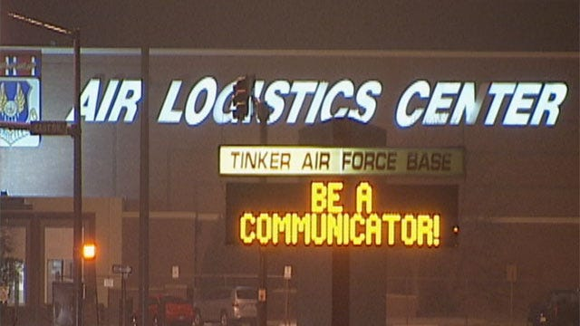 Worker Commits Suicide At Tinker Air Force Base