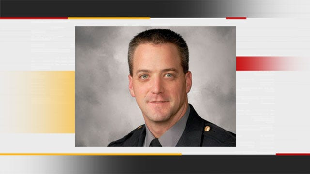 Paralyzed Oklahoma City Police Officer Chad Peery's Condition Continuing To Improve