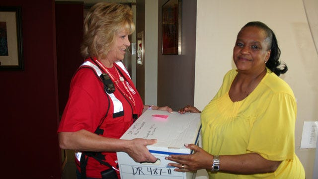 Volunteers Bring Oklahoma Generosity To Storm Battered South