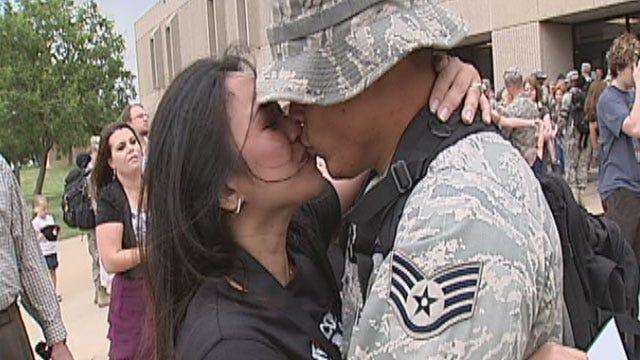 Airmen Return From Afghanistan Deployment