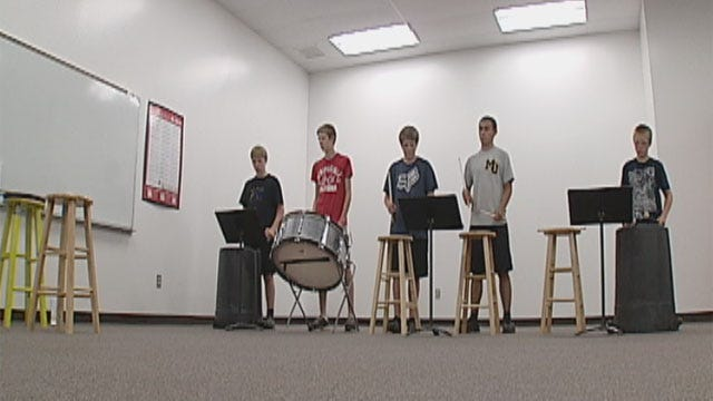 Rural School Drummers Get Creative With Lack Of Funding
