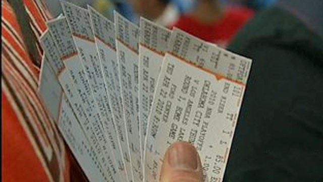 Oklahoma City Police Crack Down On Scalpers At Thunder Games
