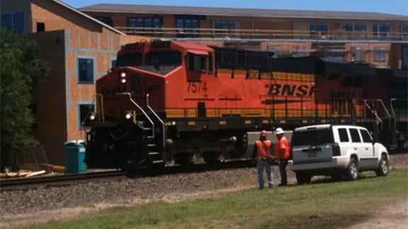 Train Strikes, Kills Norman Pedestrian