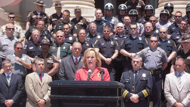 "Governor Fallin Kicks Off ""Click It Or Ticket"" Campaign"