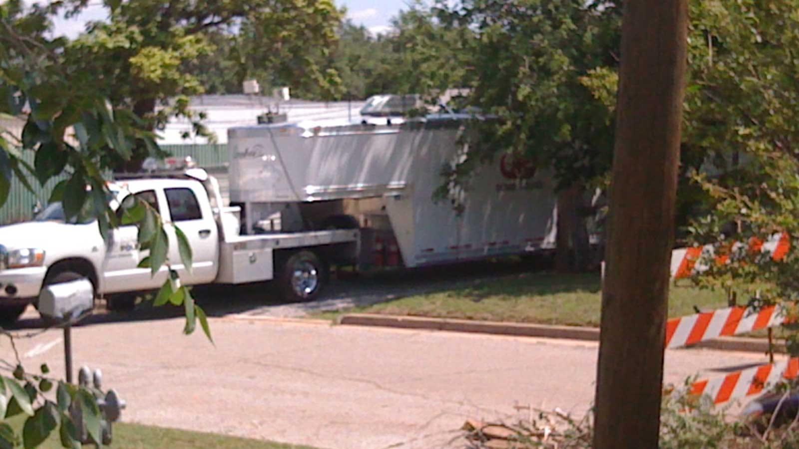 Homicide Unit, Bomb Squad Search For Body Near Southwest OKC House