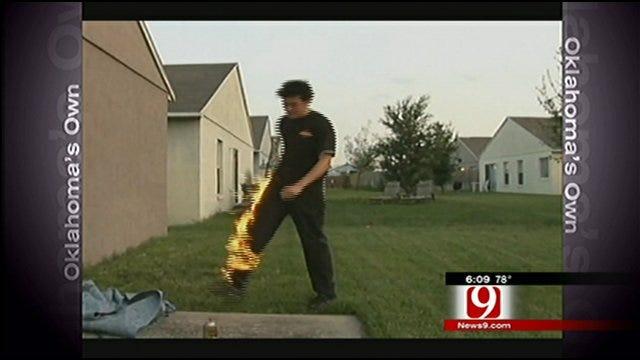 Oklahoma Teens Set Selves, Each Other On Fire