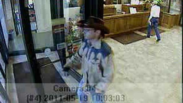 Man Dressed As Cowboy Robs Ardmore Bank