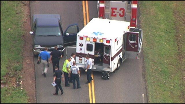 Moore Police Shoot Suspect Following Car Chase