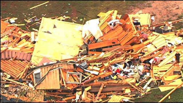 Tornadoes Wipe Out Homes, Communities In Central Oklahoma