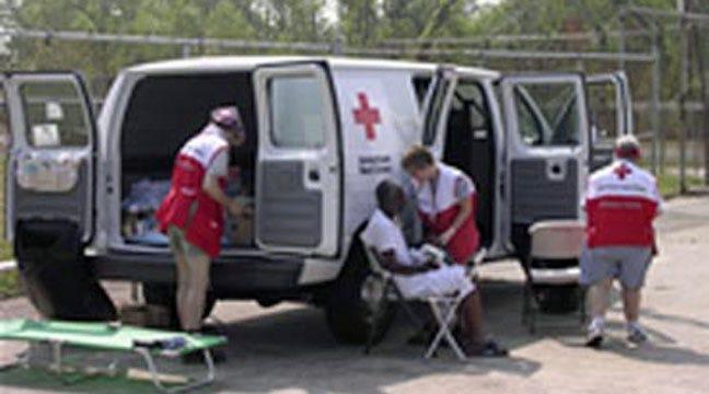 Red Cross Holds Volunteer Training
