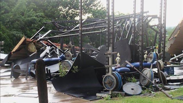 Tornado Damage In Guthrie