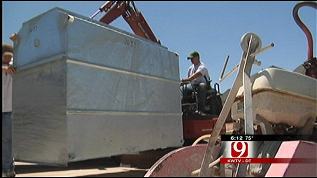 Oklahoma Tornadoes Lead To Jump In Storm Shelter Business