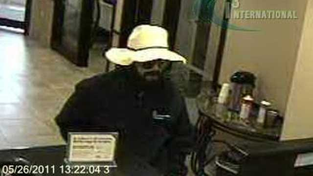Robber Strikes Northwest Oklahoma City Bank