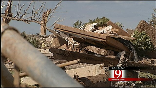 Tornado Collapses House On Top Of Washington Family