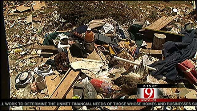 Victims Of Dibble Tornado Find Unexpected Treasures