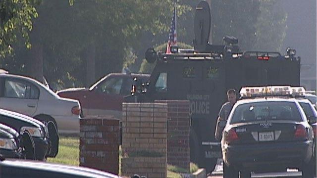 Southwest OKC Man Shoots Self During Police Standoff