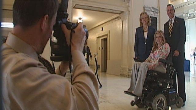 Oklahoma Senate Honors May 3 Tornado Victim