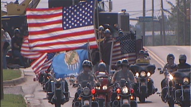 Oklahoma City Bikers Celebrate True Meaning Of Memorial Day