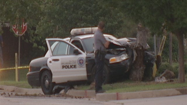 OKC Officers Injured, Suspect Shot, Killed Following Police Chase