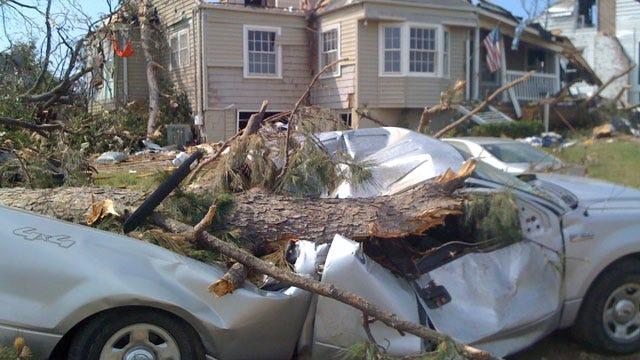 Greeted By Devastation in Tuscaloosa, Alabama