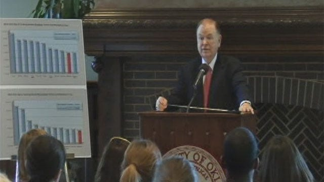 University Of Oklahoma Students May See Tuition Hike Next Year