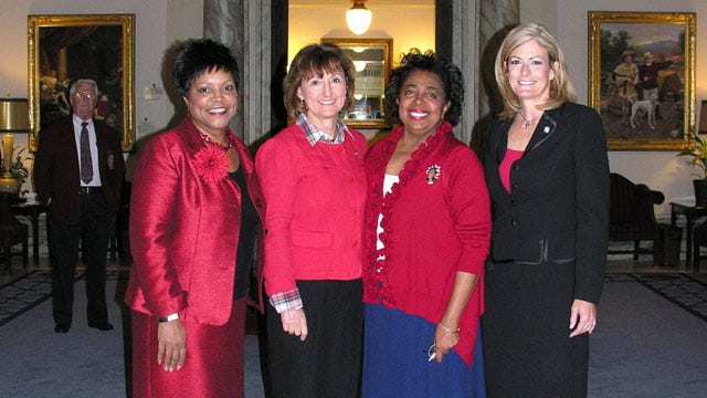 Oklahoma Women Senators Go Red In Support Of Heart Health
