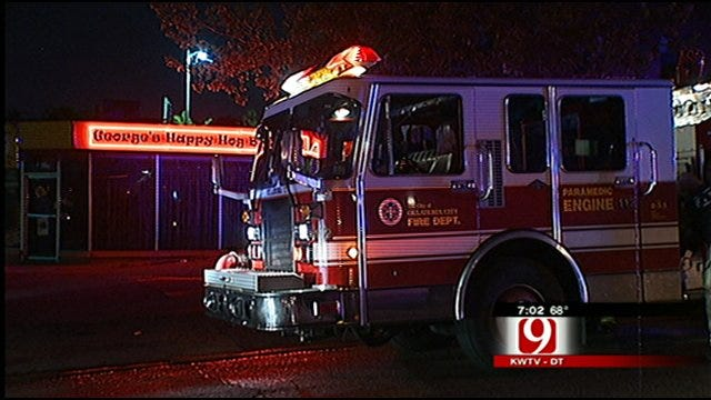 Residents Evacuated In Overnight OKC Apartment Fire