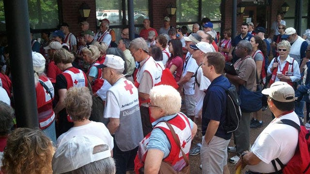 Oklahoma Volunteers Continue To Pour Into Flooded Tennessee, Mississippi