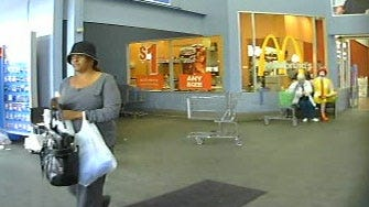 Suspect Caught On Camera Using Stolen Credit Card
