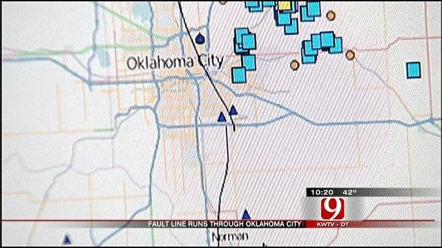 Fault Line Runs Right Through Oklahoma City